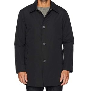 Cole Haan Men's Car Coat With Removable Liner XXL